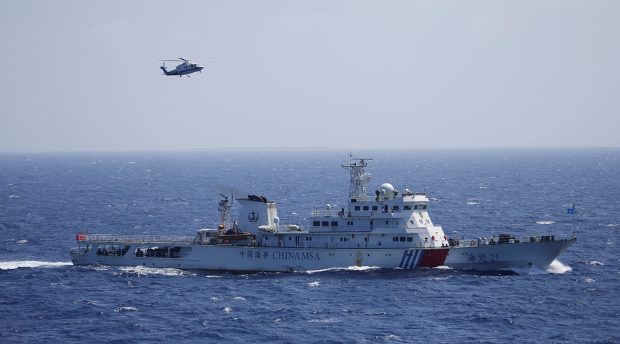 Russian & Chinese navies to hold drills in South China Sea