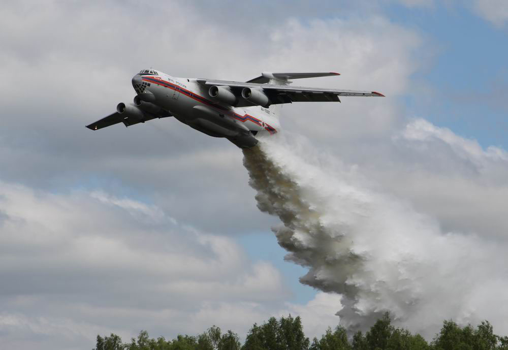 Russian IL-76 Crashed While Putting Out Blaze in Siberia