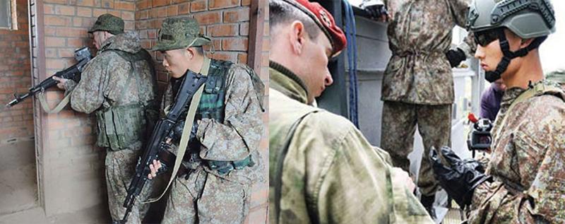 'Hunting Falcon' Visits 'Vityaz'