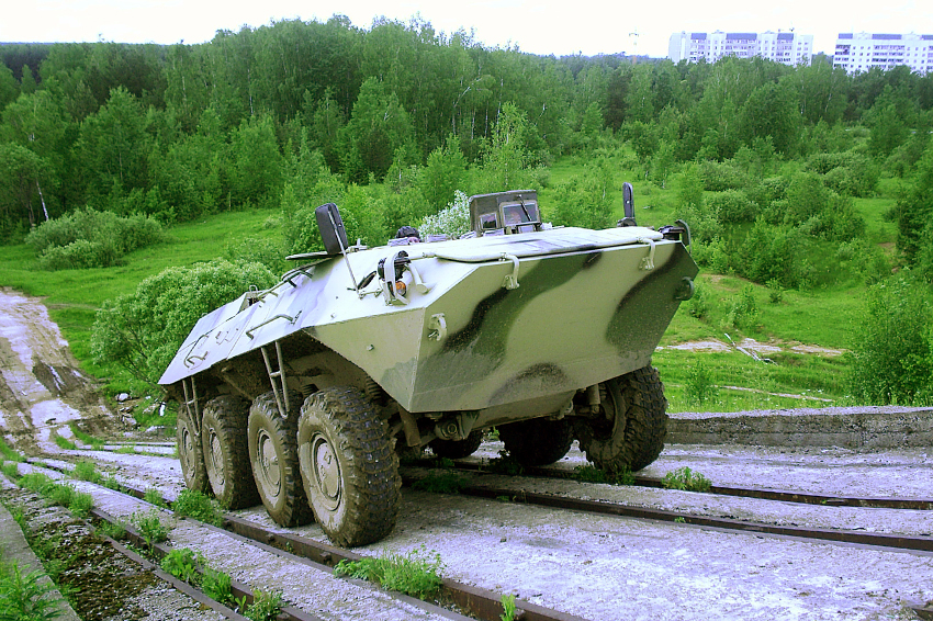 Russia Tests Noiseless Armored Personnel Carrier with Hybrid Power-Plant Unit