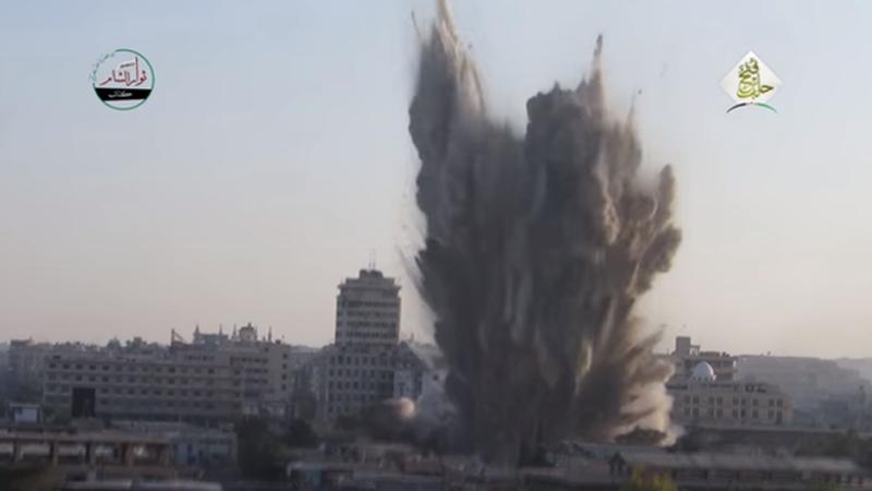Aleppo Tunnel Bomb Kills 38 Government Troops
