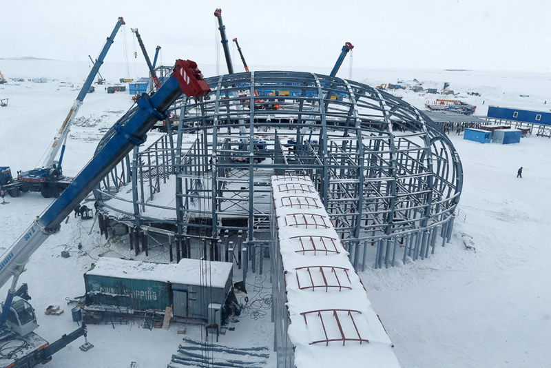 Russian Military Infrastructure in Arctic To Be Completed by Late 2016