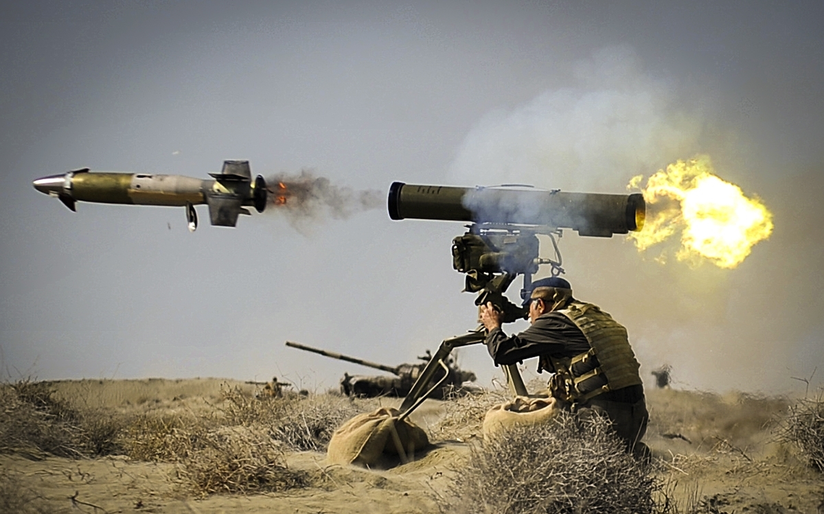 U.S.-led Convoy Attacked With 'Guided Missile' In Iraq's Al-Diwaniyah