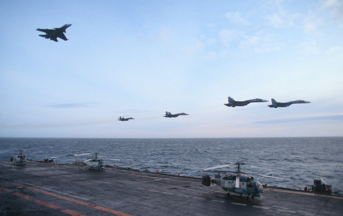 Nuclear Multi-Role Sub to Escort Russia's Aircraft Carrier at Syrian Shores