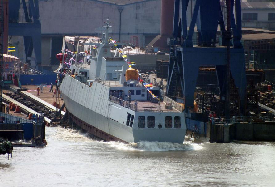 China's 3,000-ton frigate exported to North Africa