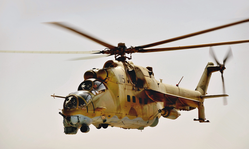 Afghanistan Wants to Buy Russian Mi-35 Military Helicopters to Counter Terrorists