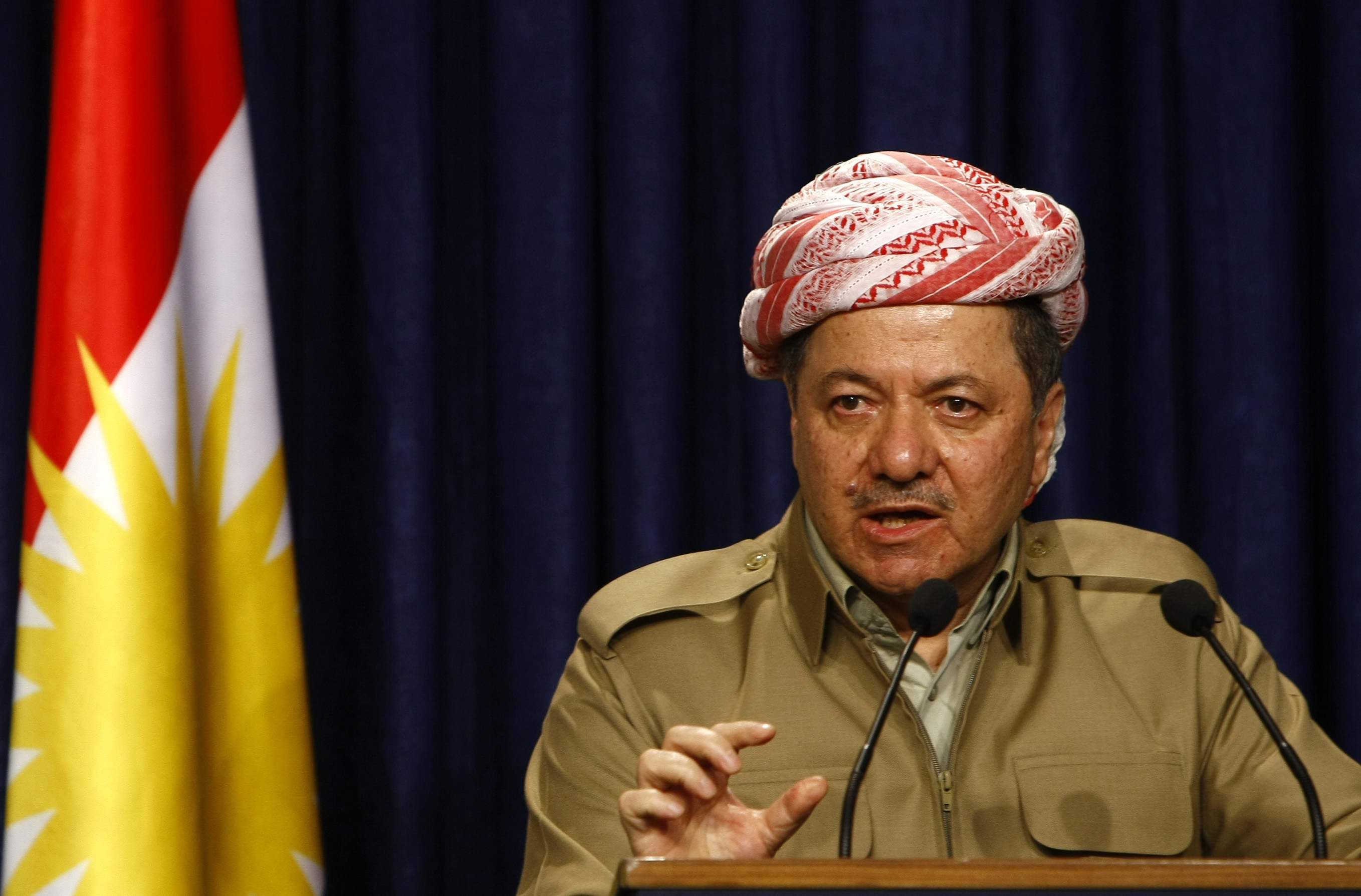 President of Iraqi Kurdistan Announces Movement Towards 'Sovereignty'