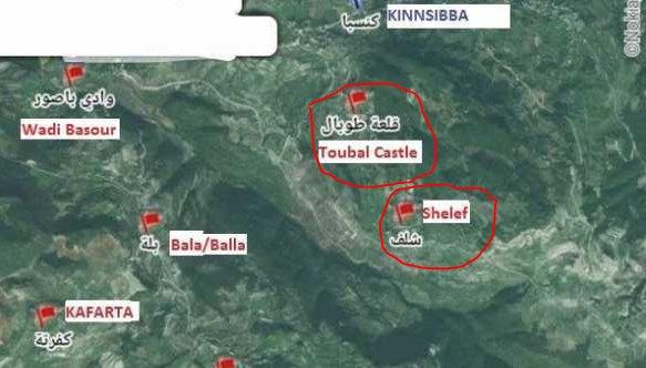 Syrian Army Advancing on Kinsibba in Northern Latakia
