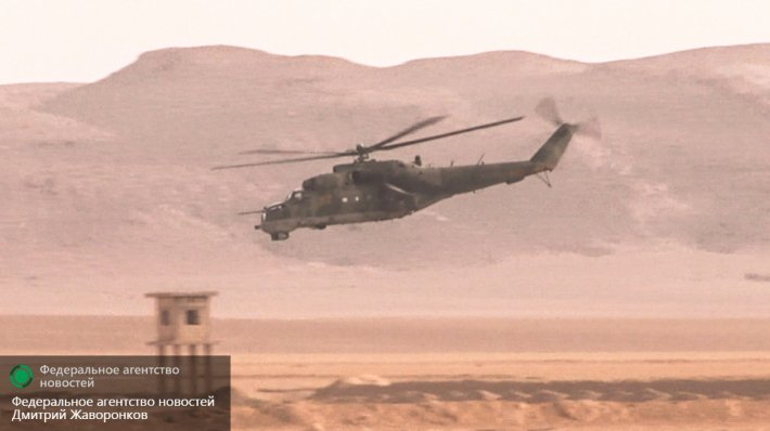 ISIS Claims to Shot Down Russian Military Helicopter East of Palmyra