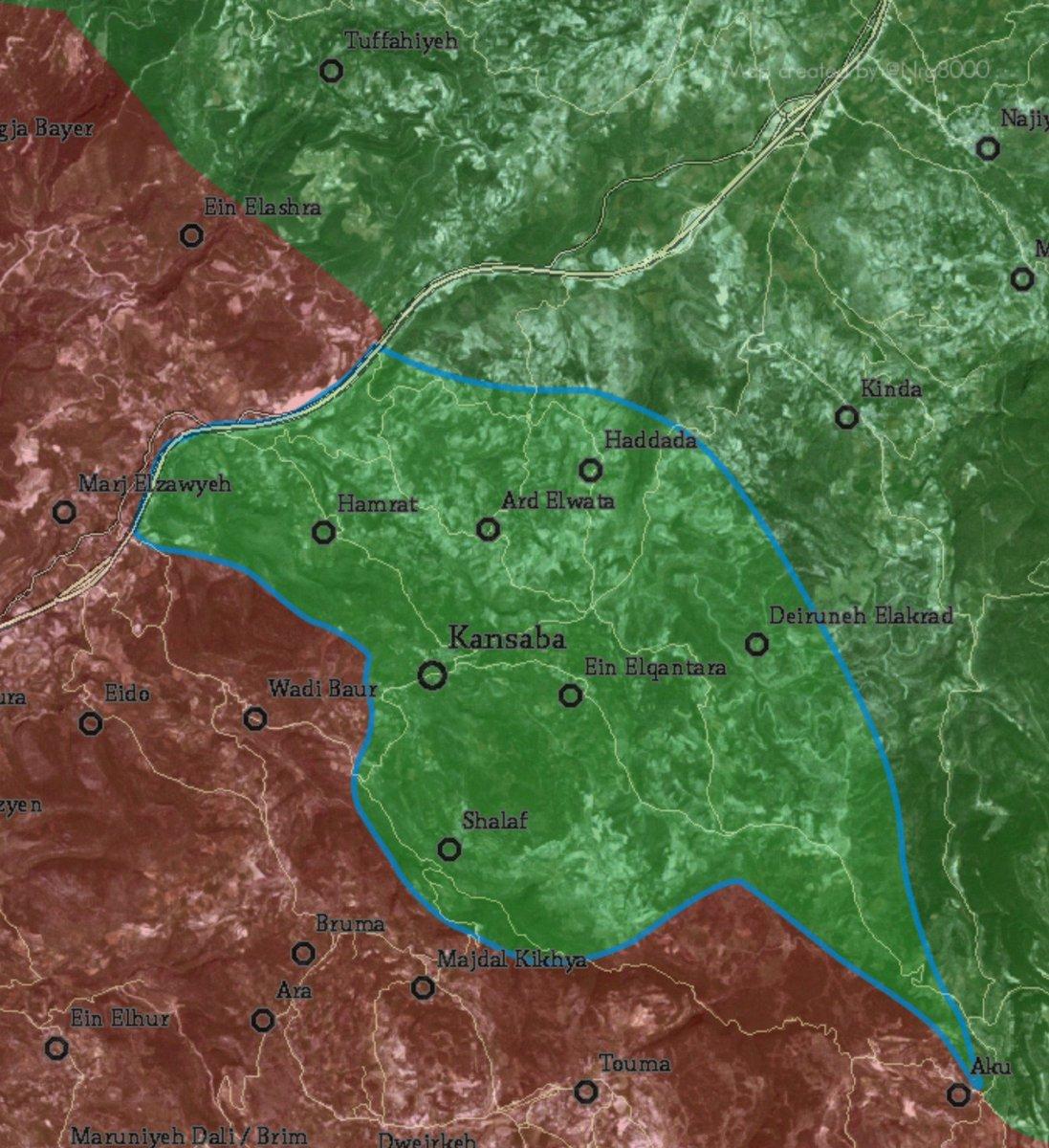 Al Nusra & Allies Capture Town of Kinsabba, Develop Advance in Latakia Province