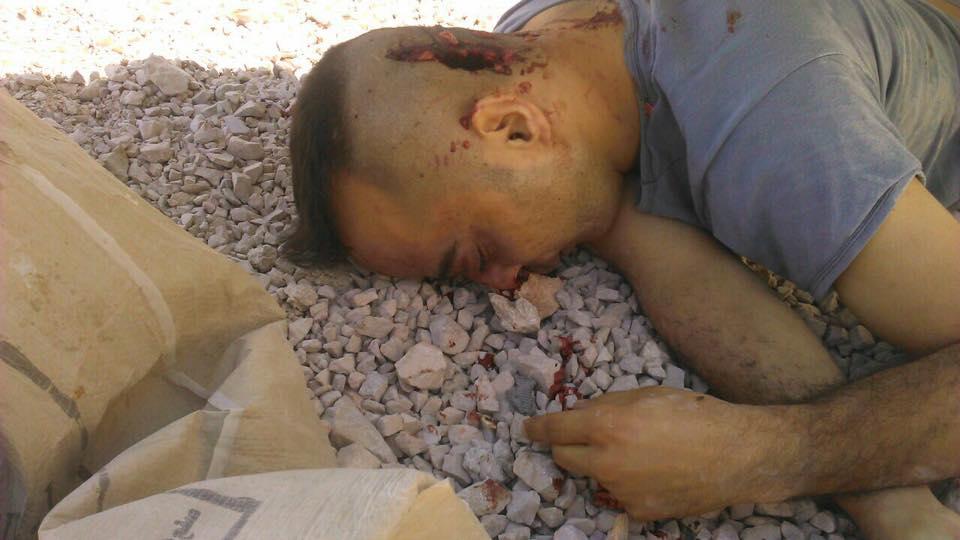 US-backed 'Moderate Rebels' Killed Syrian Pilot Taken Captive near Damascus (18+)