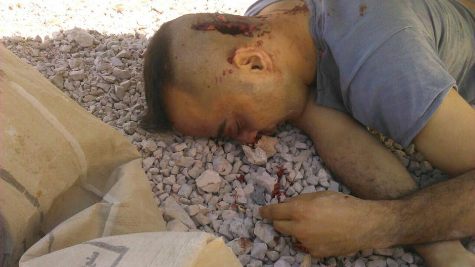 US-backed 'Moderate Rebels' Killed Syrian Pilot Taken Captive near Damascus (18+)