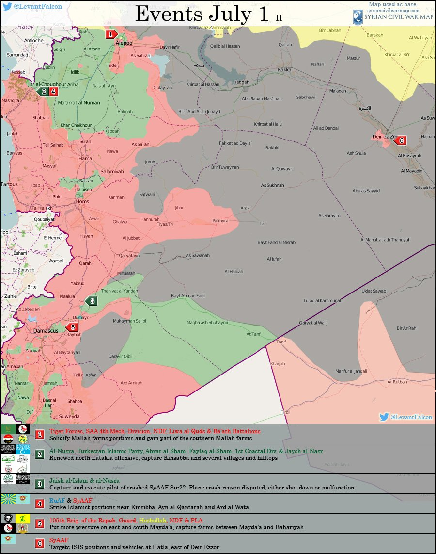 Syria: Militants Gain Ground in Latakia, Army Advances in Aleppo
