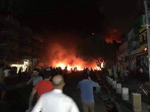 Iraq: Blasts Kill 172 in Baghdad Shopping Areas (Video, Photo)