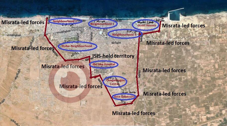 Libya: Misrata Forces Advancing on ISIS Stronghold of Sirte (Map, Video)