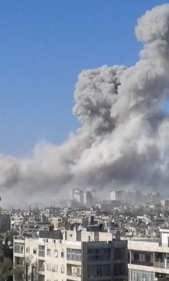Huge Explosion in Aleppo's Leyramoon Neigborhood - #WARPHOTOS