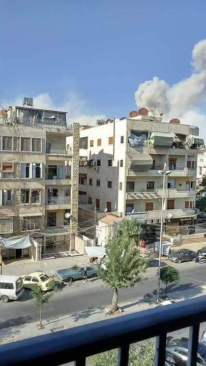 Huge Explosion in Aleppo's Leyramoon Neigborhood - #WARPHOTOS