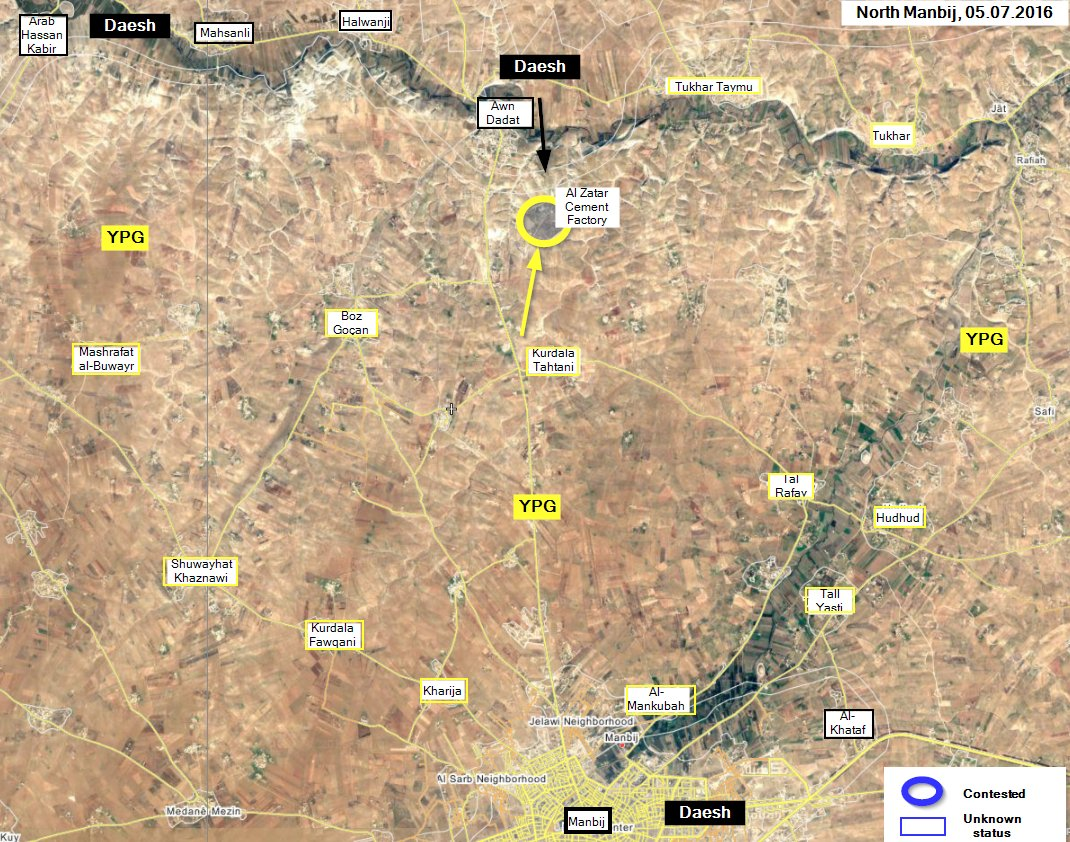 US-led Coalition Intensifies Air Strikes due to SDF's Inability to Break ISIS Defenses in Manbij