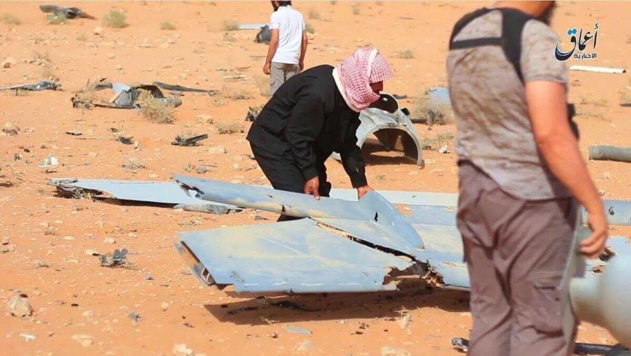 ISIS Claims to Shot Down American Combat Drone in Syria