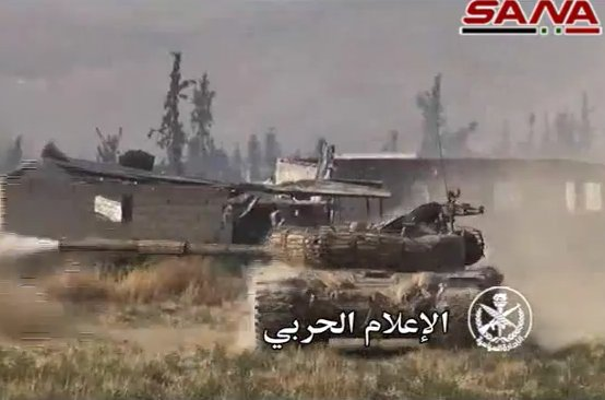 Syrian Army Engages Militants near Maydaa Town in East Ghouta (Photos, Video)