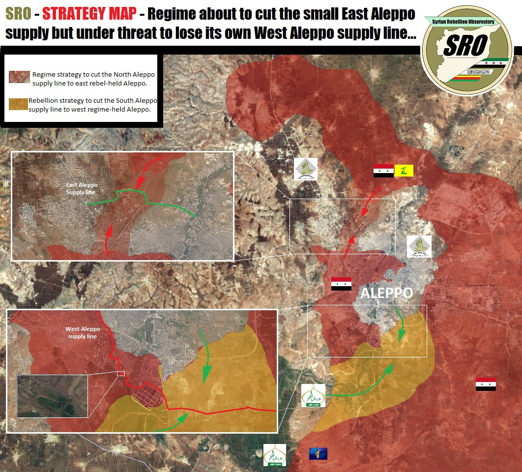 Anti-Assad Analysts Dream about Militants Major Counter Attack West of Aleppo City