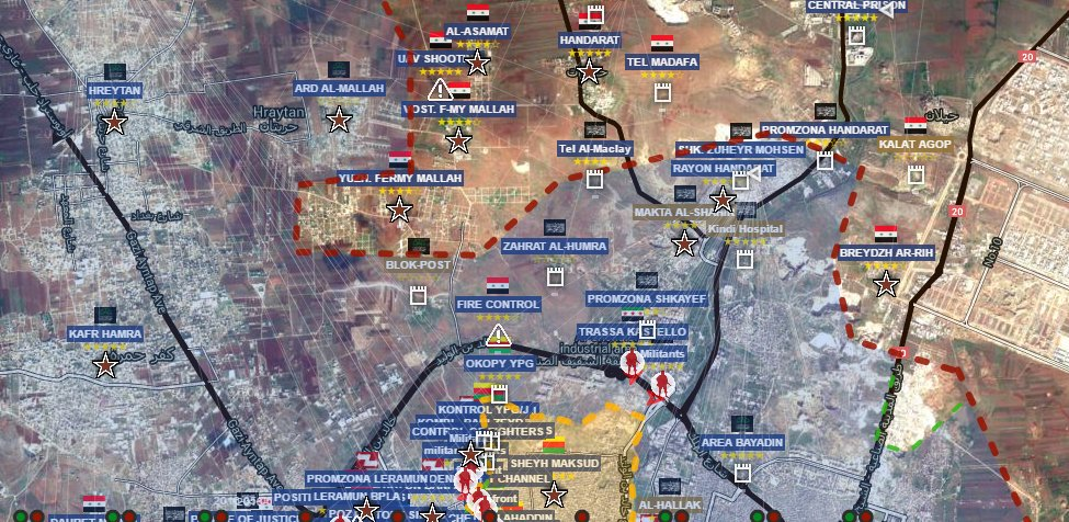 Syrian Army's Tiger Forces Set Fire Control of Only Militants Supply Route to Aleppo City (DETAILED MAPS)