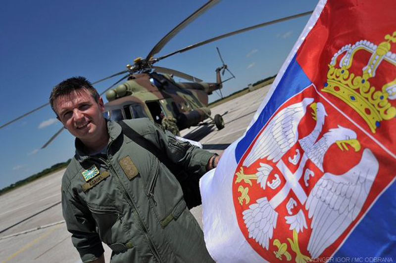Serbian Air Force Received New Russian Mi-17-V5 Helicopters