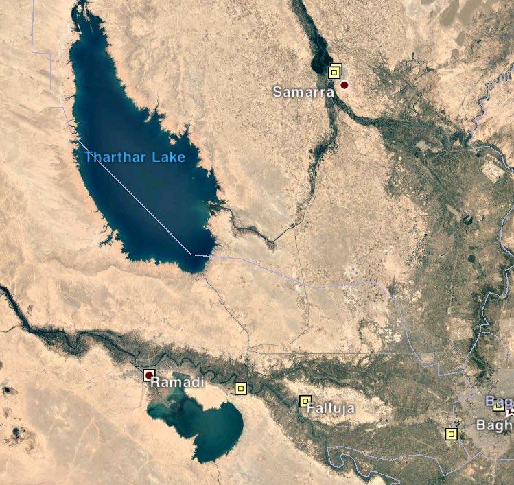 Iraqi Forces Secure Samarra-Ramadi Highway