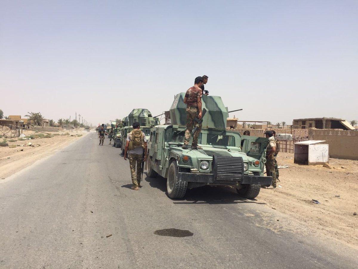 Iraqi Forces Liberate the Jidayah and Ihsan Farms north of Ramadi (Photo Report)