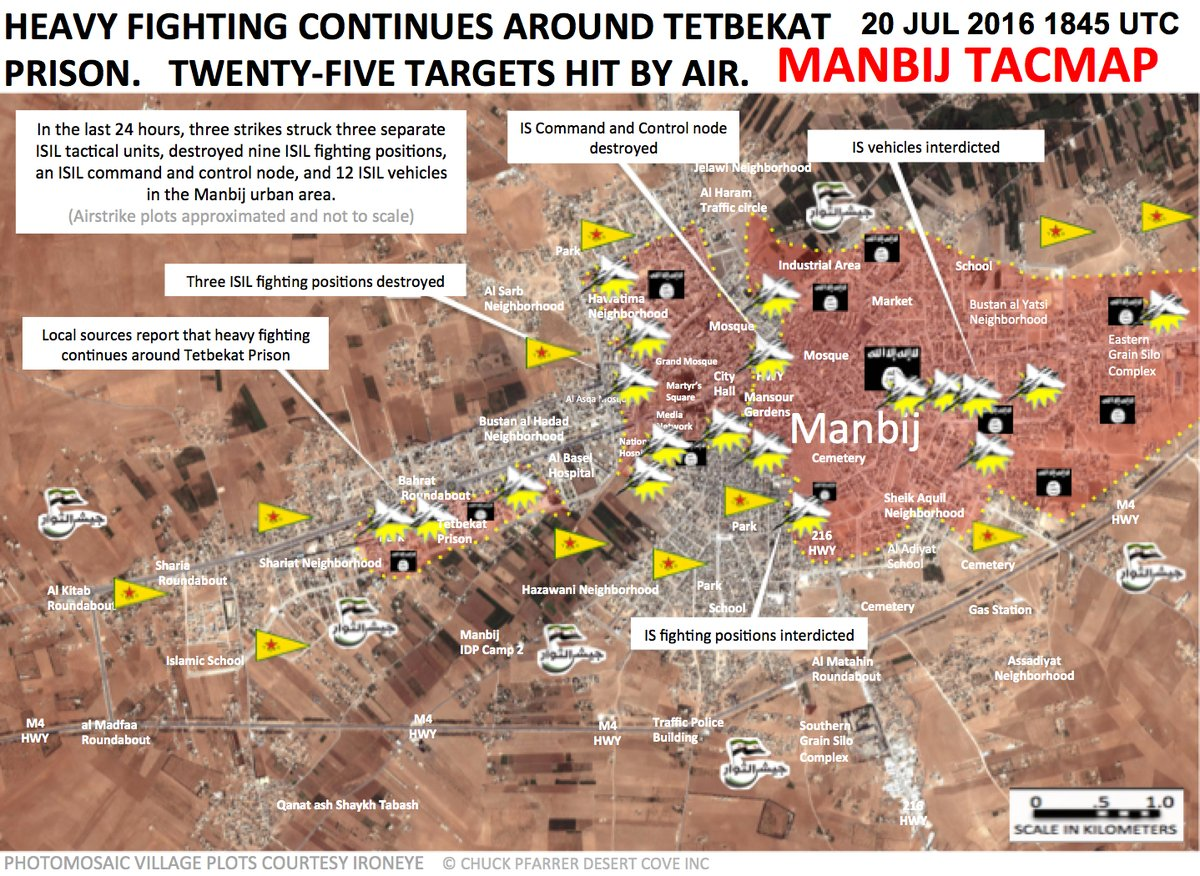 Clashes Ongoing in Western Part of Manbij, Syria
