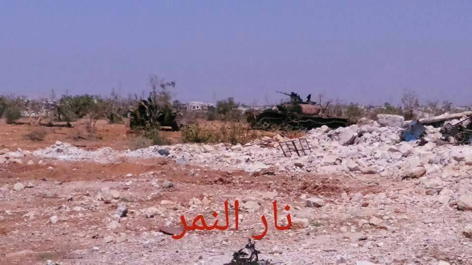 Photoreport: Syrian Army Destroyed Lots of Military Equipment Belonging to Jihadists
