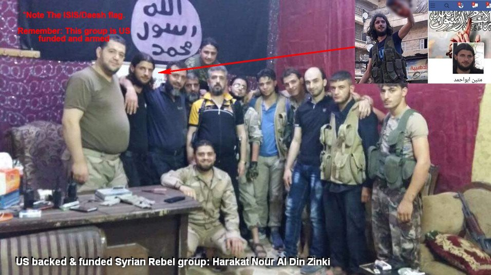 US-backed 'Moderate Rebels' Beheaded Boy 'by Mistake.' Meanwhile High Ranking Rebel Commanders Responsible