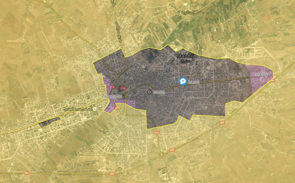 Military Situation in Manbij on July 21