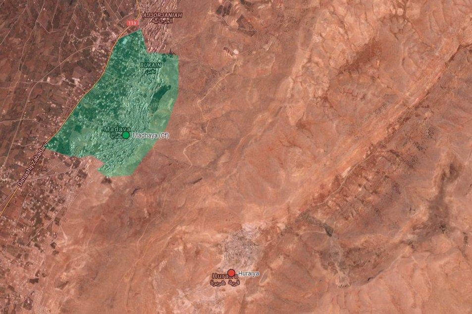 Syrian Army Liberates Strategic Town Northwest of Damascus