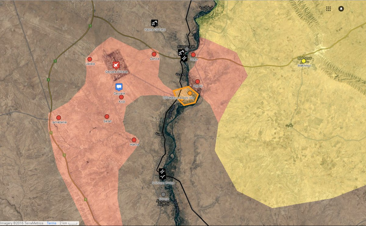 Iraqi Security Forces Surround Hawija in Nineveh Governorate
