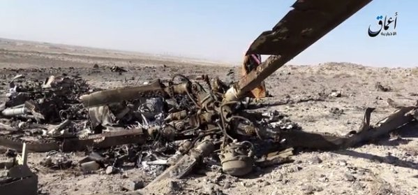 ISIS Claims to Shot Down Syrian Helicopter near Damascus