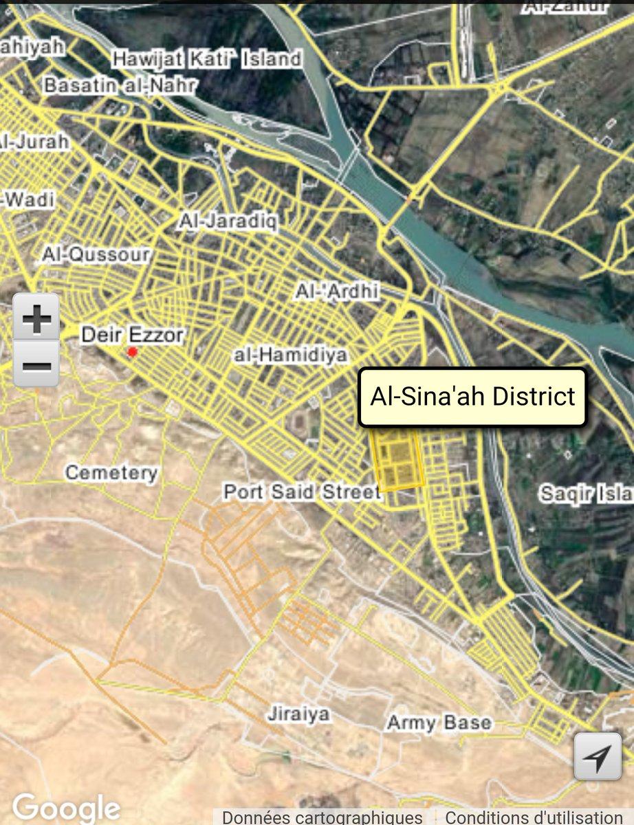 Syrian Army Regains from ISIS Al-Sina'ah Neighborhood of Deir Ezzor