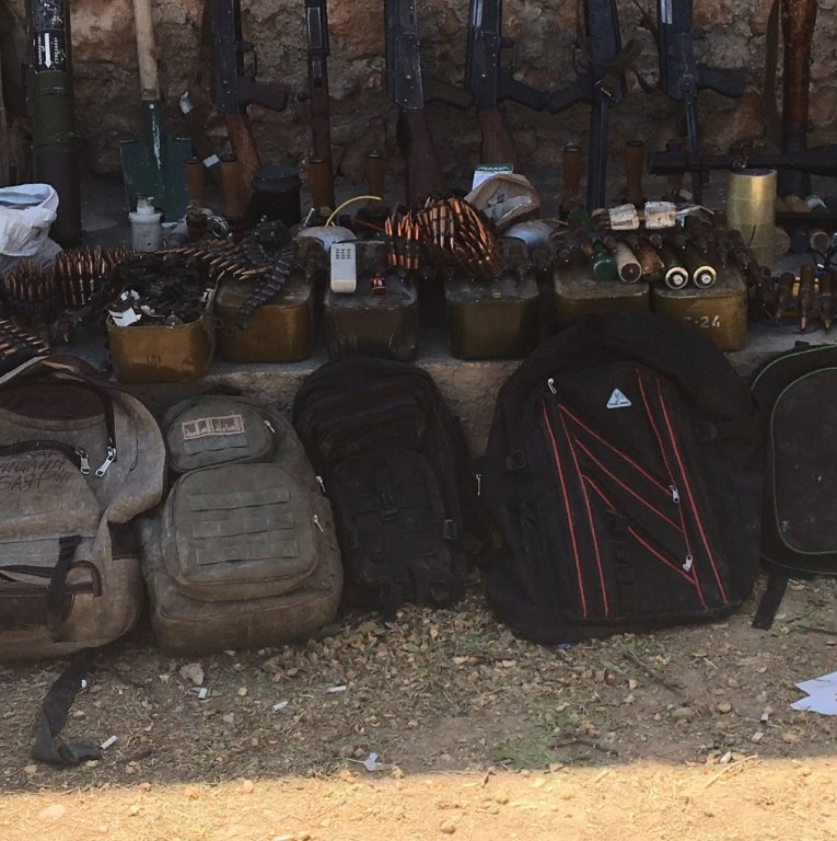 Syrian Democratic Forces Seize ISIS Weapon Depot in Manbij (Photos)