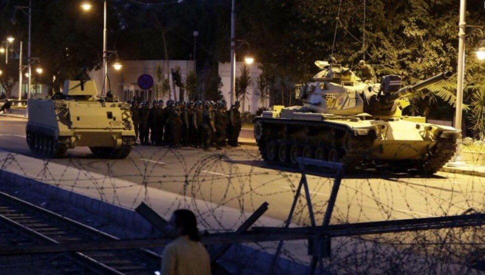 BREAKING: Turkish Military Has Taken Over The Government