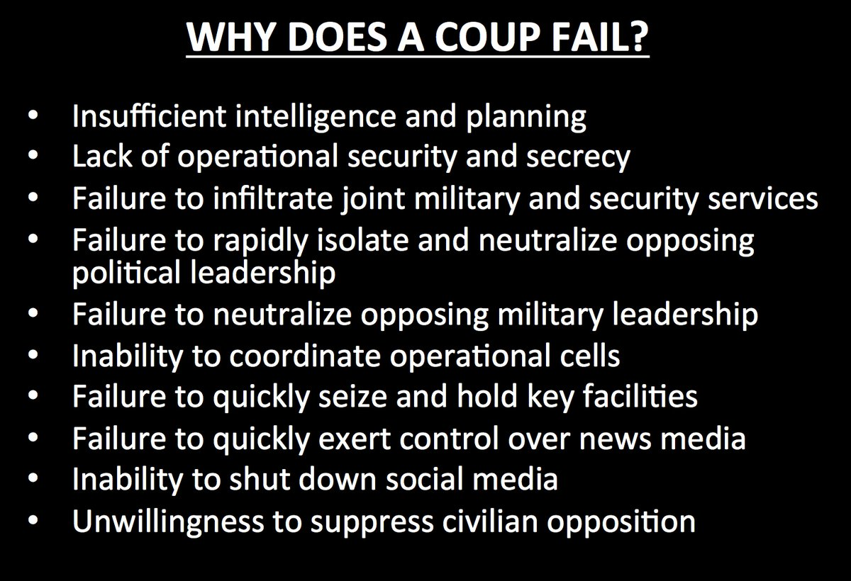 Why Does Turkish Coup Fail?