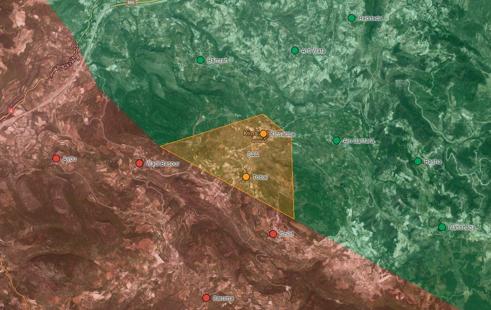 Syrian Army Liberates Kinsibba and Nearby Villages in Northern Latakia