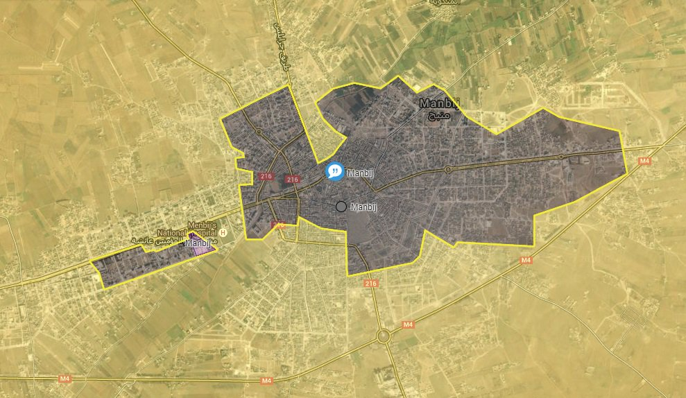 Syrian Democratic Forces Advancing Toward Manbij City Center