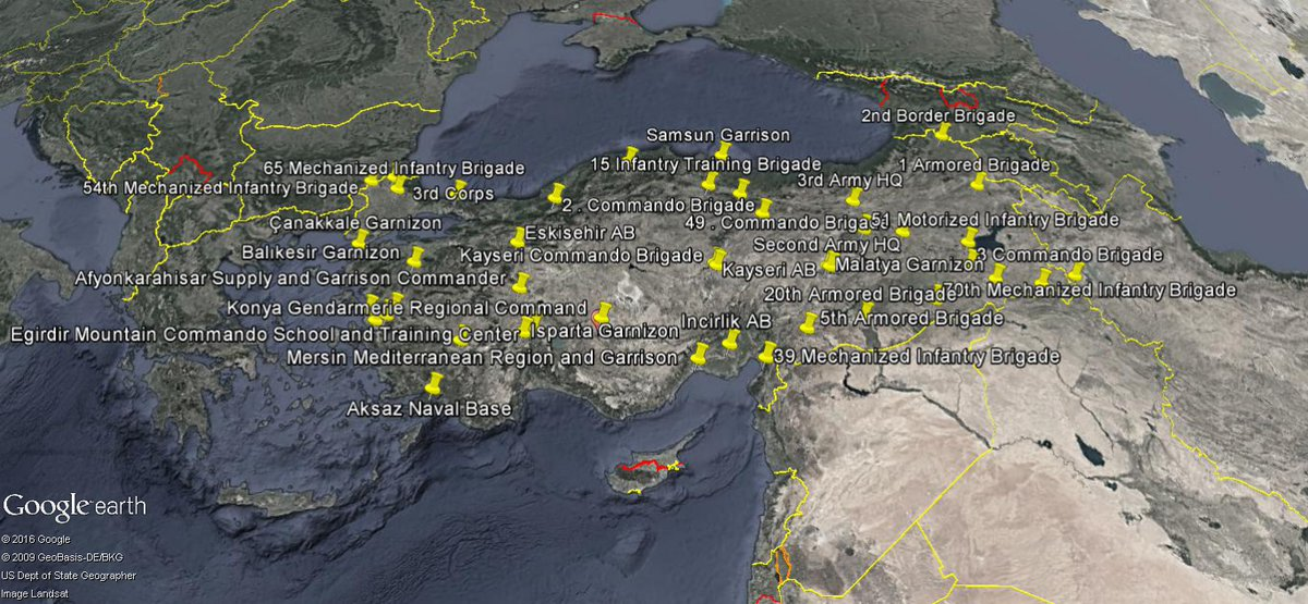 Turkish Coup Attempt in Maps, Numbers and Videos