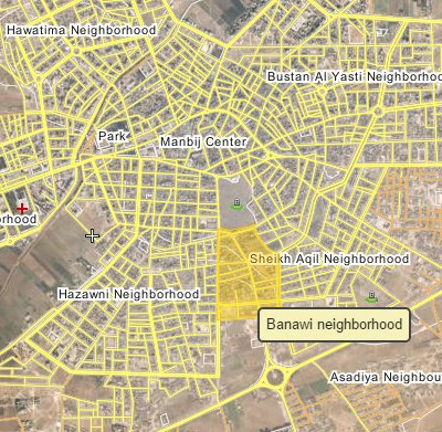 Syrian Democratic Forces Seize Banawi Neighborhood of Manbij