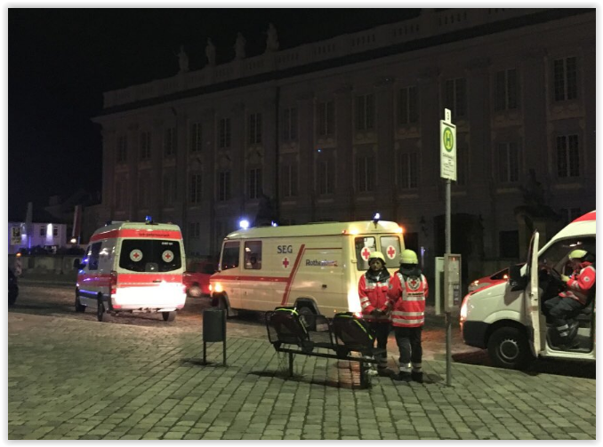 BREAKING: An Explosion Blasts Ansbach, Germany. At Least 2 Dead and Several Injured.