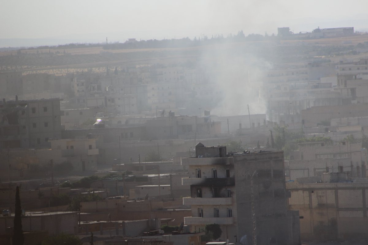 SDF Narrowing Siege on Manbij City Center. 24 ISIS Terrorists Killed in Clashes