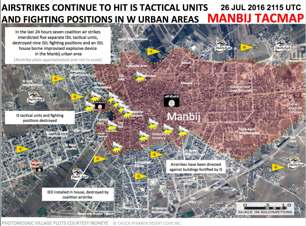 Syrian Democratic Forces Failed to Enter Manbij City Center. Clashes Ongoing