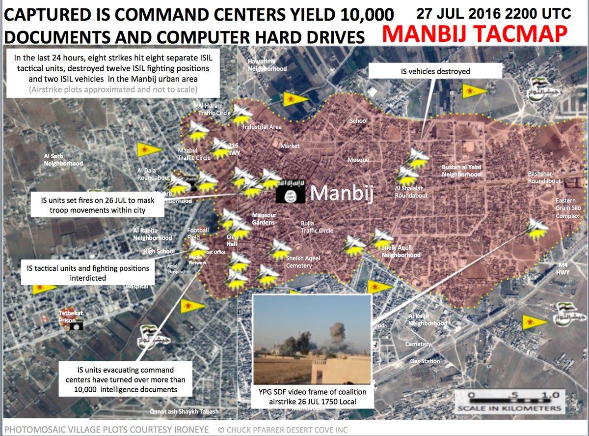 Syrian Democratic Forces Seized 10,000 ISIS Intelligence Docs
