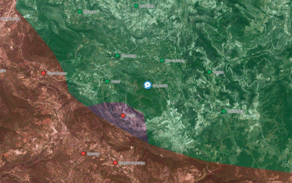 Syrian Army Regains Shilif in Northeastern Latakia