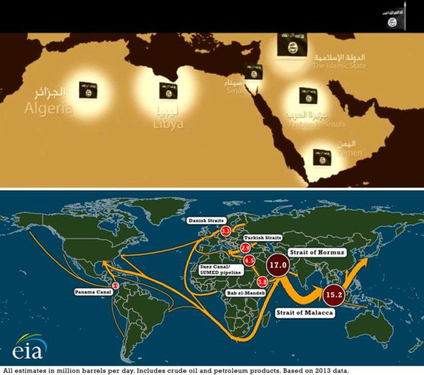 ISIS Wants to Control Key Trade Route For Oil to Europe